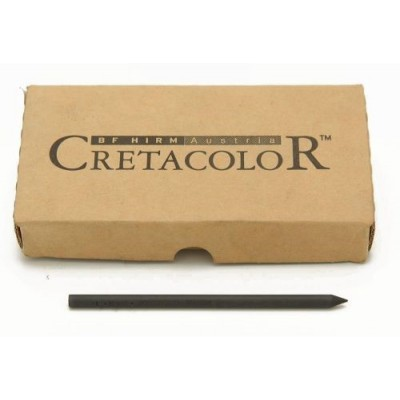 Mina 5,6mm grafito carbon suave 260-01 Cretacolor