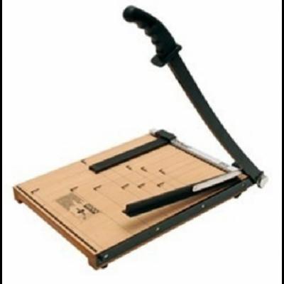 Cizalla a palanca base de madera 25x32cm Z2