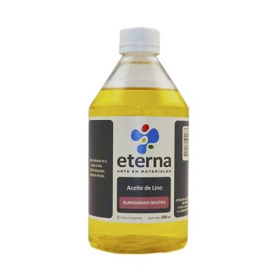 Aceite de lino estudio 500 cc Eterna