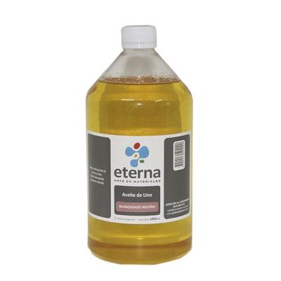 Aceite de lino estudio 1000 cc Eterna