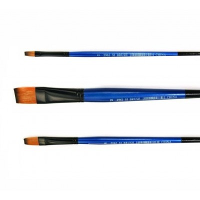 Pincel Chato Fibra de 2 Colores Serie 2962 StationeryImag desde Nº2
