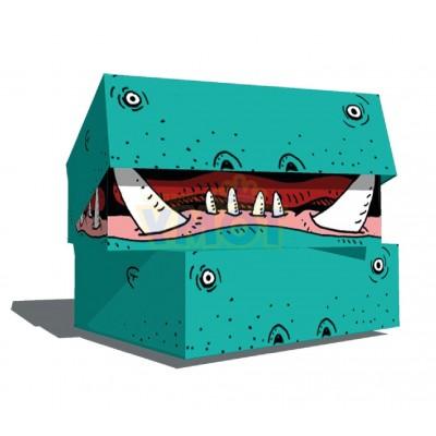Caja archivo cartón legajo 12 Hipopótamo Paperland