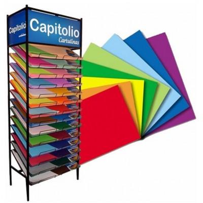 Cartulina de colores Capitolio x unidad
