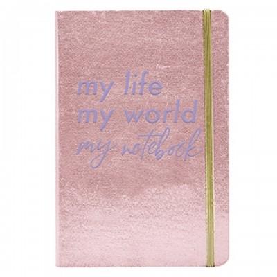 Cuaderno A5 Bullet Journal tapa flexible Life Mooving