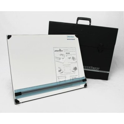 Tablero portatil 40 x 50 cm con atril 5 posiciones +portatablero Plantec