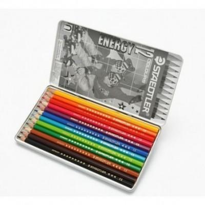 Lápices de colores x12 unidades lata Staedtler