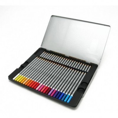 Lápices Acuarelables Karat Aquarell x48 colores lata Staedtler