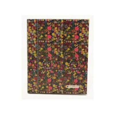 Carpeta Carta Flowers x 120 hojas rayadas Cita Kit