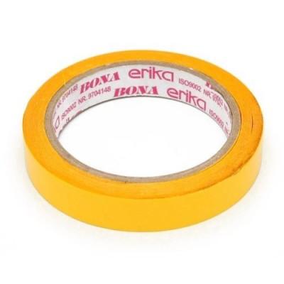 Cinta Adhesiva Bona DOBLE FAZ amarilla 18 mm x15 metros Erika
