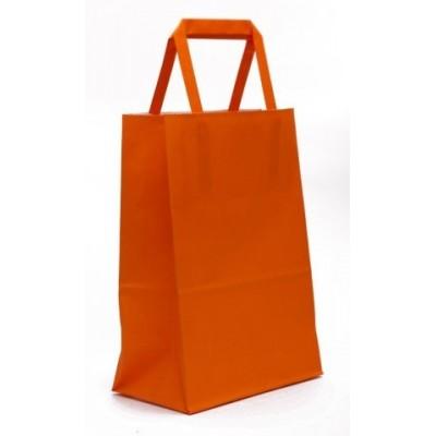 Bolsa regalo acuario Naranja 14x8x20cm Romi Pack