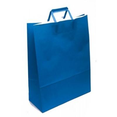 Bolsa regalo acuario Azul 36x15x48cm Romi Pack