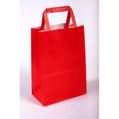 Bolsa regalo acuario Rojo 14x8x20cm Romi Pack