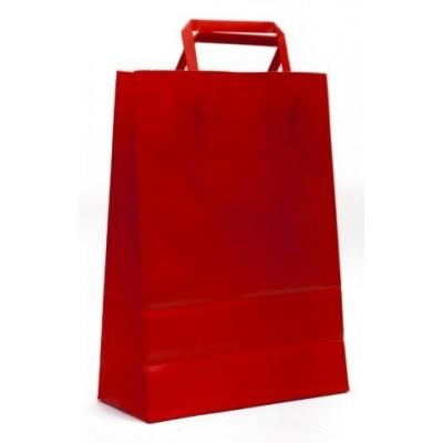 Bolsa regalo acuario Rojo 22x10x30cm Romi Pack