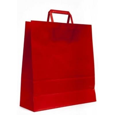 Bolsa regalo acuario Rojo 31x11x33cm Romi Pack