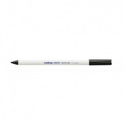 Marcador para Tela Art 4600 (01) NEGRO punta fina 1 mm Edding