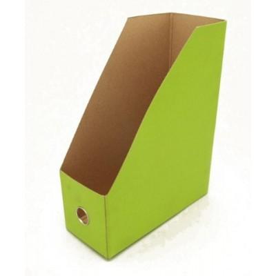 Revistero de carton Verde petróleo Les Cahiers