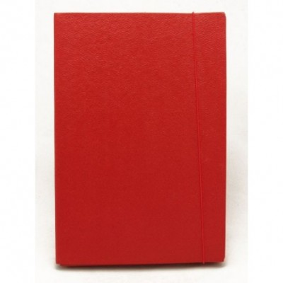 Estuche 5 cm con elastico fibra color Fibracap Rojo