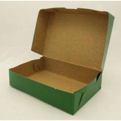 Caja oficio 9 cm tapa volcada color Fibracap Bordo