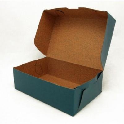 Caja oficio 12 cm tapa volcada color Fibracap Bordo