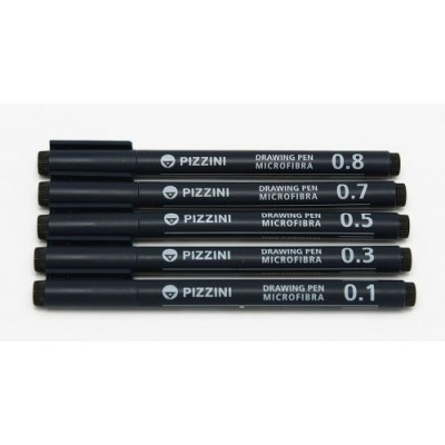 Drawing Pen 0.8mm Pizzini