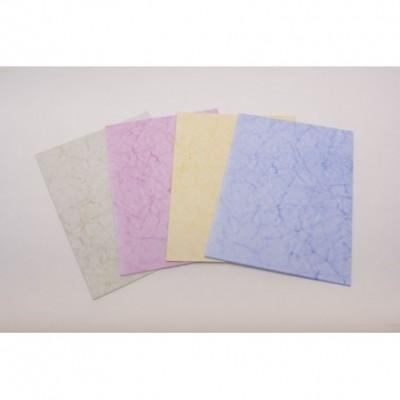 Papel 90 grs A4 x 25 hojas batik Mostaza Paperland