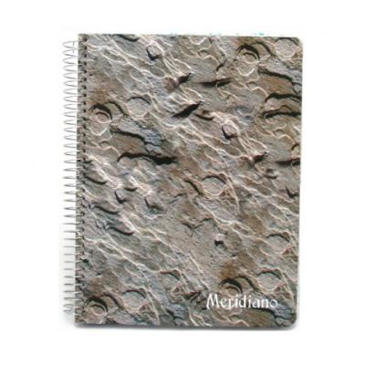 Cuaderno espiralado con indice x100 hojas reforzado Meridiano