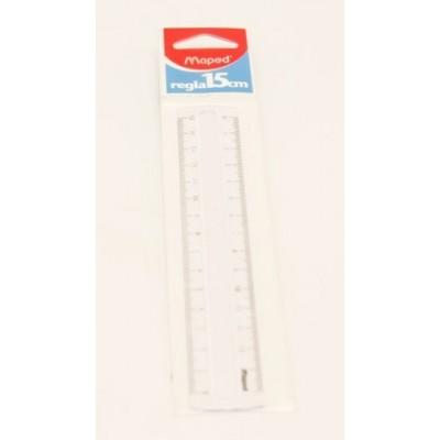Regla 15cm blister Maped