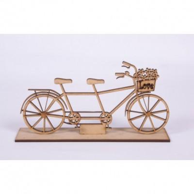 Bicleta antigua laser 9 cm El Tigre